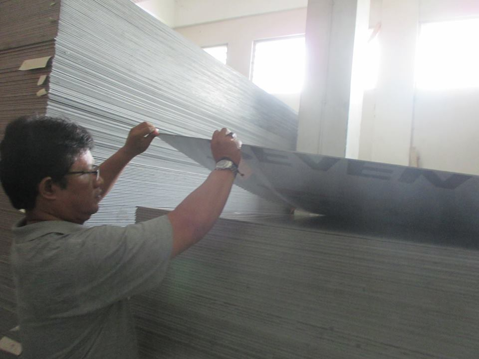 DISTRIBUTOR SEVEN ALUMINIUM COMPOSITE PANEL by. PT. SEVEN ERA JAYA