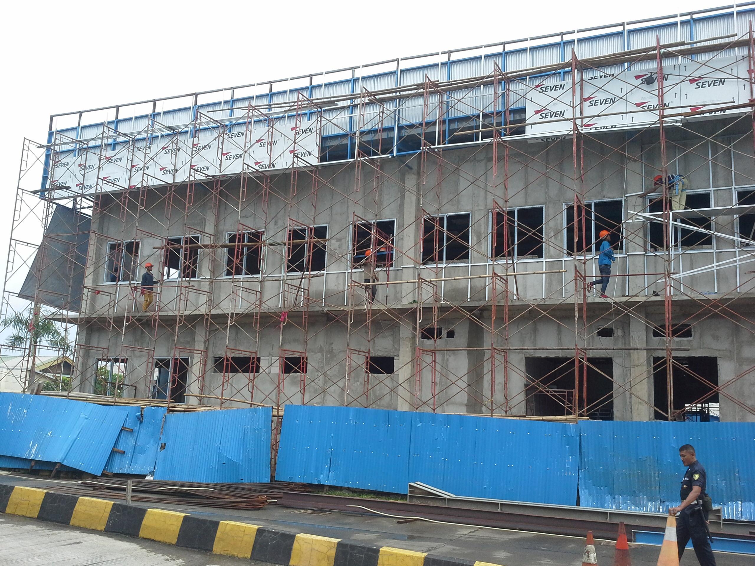 Jasa pasang Seven aluminium composite panel area Kota Bekasi